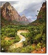 Emerald Pools Trail 3 Acrylic Print