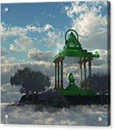 Emerald Throne Acrylic Print