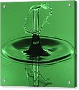Emerald Umbrella Acrylic Print