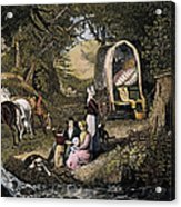 Emigrants: Appalachians Acrylic Print