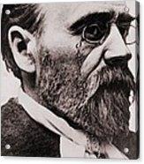 Emile Zola 1840-1902, French Novelist Acrylic Print
