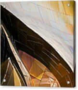 Emp Curves Acrylic Print by Chris Dutton