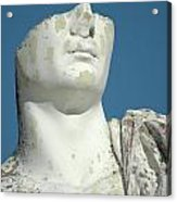 Emperor's Bust Acrylic Print