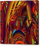 Emperors Garden Acrylic Print