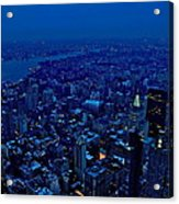 Empire State Of Mind Cold  Acrylic Print