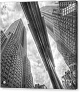 Empire State Reflection Acrylic Print