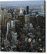 Empire's View Acrylic Print