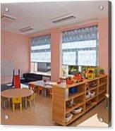 Empty Estonian Elementary Grade School Acrylic Print