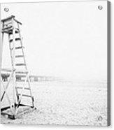 Empty Life Guard Tower 2 Acrylic Print