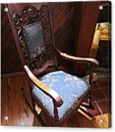 Empty Rocking Chair Acrylic Print