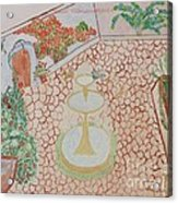 Enchanting Garden Acrylic Print
