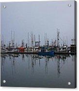 Encompossed By Fog  Acrylic Print