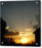 End Of Day Acrylic Print