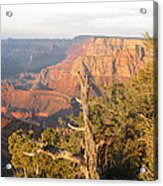End Of Grand Canyon Day Acrylic Print