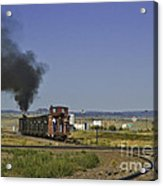 End Of Standard Gauge Acrylic Print