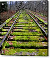 End Of The Line Acrylic Print