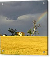 End Of The Rainbow Acrylic Print by James Steele
