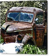 End Of The Road Acrylic Print
