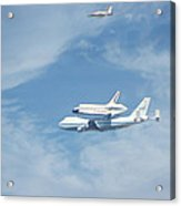 Endeavour's Final Flight Acrylic Print