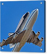 Endeavour's Last Flight Acrylic Print