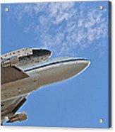 Endeavour's Last Flight IIi Acrylic Print