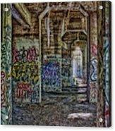 Endless Graffiti Acrylic Print