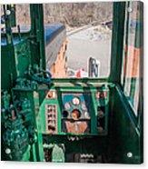 Engineer's View Acrylic Print