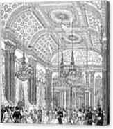England - Royal Ball 1848 Acrylic Print