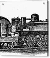 England: Locomotive, C1831 Acrylic Print