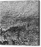 England: Manchester, 1876 Acrylic Print