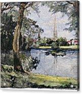 England: Salisbury Acrylic Print