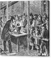 England: Soup Kitchen, 1862 Acrylic Print