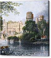 England: Warwick Castle Acrylic Print