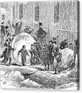 England: Winter, 1855 Acrylic Print