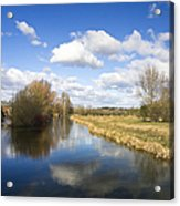 English Countryside1 Acrylic Print by Jane Rix
