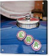 English Racing Automobile Hood Emblem Acrylic Print