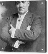 Enrico Caruso 1873-1921, The Great Acrylic Print