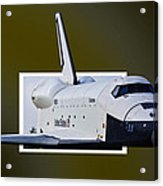 Enterprise Acrylic Print by Lawrence Ott