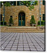 Entrance Squared Acrylic Print