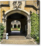 Entrance To Cecilienhof Palace Acrylic Print