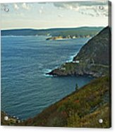 Entrance To St. John's Harbour Acrylic Print
