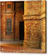 Entry To The Spanish Pavillion In Sevilla Spain Acrylic Print