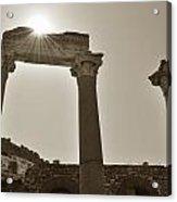 Ephesus 2011 Ad Acrylic Print by Terence Davis