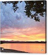Epic August Sunset Acrylic Print