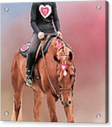 Equestrian Competition Acrylic Print