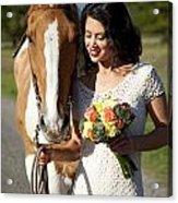 Equine Companion Acrylic Print