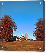 Erdenheim Farm In Autumn Acrylic Print