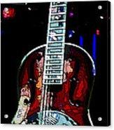 Eric Clampton's Guitar Acrylic Print by David Alvarez