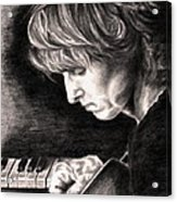 Eric Johnson Acrylic Print by Kathleen Kelly Thompson