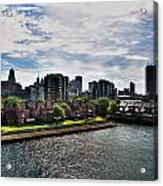Erie Basin Marina Summer Series 0002 Acrylic Print